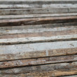 Foto de Stock  : Wood on close up