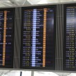 Stock Photo: Airport Arrivals or Departures Board