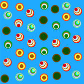 Seamless pattern with circles — Stock Photo