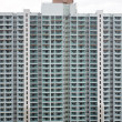 Overcrowding block of flats in asia - Stock Photo