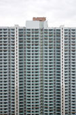 Overcrowding block of flats in asia — Stock Photo
