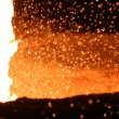 Molten Steel — Stock Photo