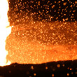 Royalty-Free Stock Photo: Molten Steel