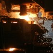 Molten Steel in Factory - Stock Photo