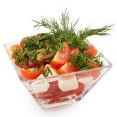Lezzetli taze salata — Stok fotoğraf