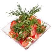 Tasty fresh salad — Stock Photo