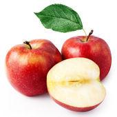 Rijpe rode appel — Stockfoto