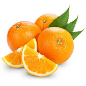 Orange frukt — Stockfoto