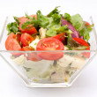 Постер, плакат: Closeup on a fresh salad bowl