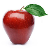Red apple fruit — Stock Photo