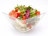 Healthy garden salad — Стоковое фото