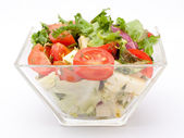 Healthy garden salad — Stock Photo