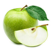 Green apples — Foto de Stock