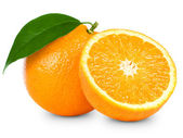 πορτοκάλια φρούτων — Φωτογραφία Αρχείου