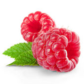 Raspberries — Stock fotografie