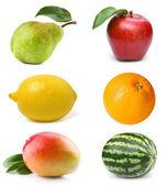 Set fruit — Stock Photo