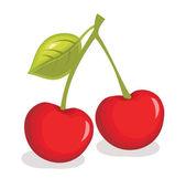 Cherry vector illustration — Stock Vector