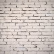 White painted old brick wall — Stock Photo #11895866