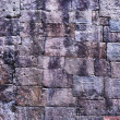 Ancient stone wall in Angkor Wat — Stock Photo
