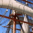 Close-up of sail - Stock Photo