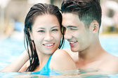 Enjoying swimming — Stock Photo