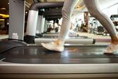 Haciendo ejercicio — Foto de Stock