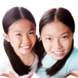 Beautiful sisters — Stock Photo