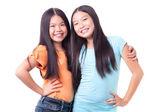 šťastné holky — Stock fotografie