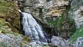 Horsetail waterfall — Stock Photo