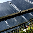 Solar collectors - Stock Photo