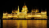 Night view in Budapest — Stock Photo
