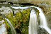 Little cascade — Stock Photo