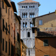 Medieval Tuscany City — Stock Photo