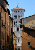 Medieval Tuscany City — Stock Photo