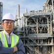 Engineer of oil refinery — Stock Photo #11219796