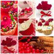collage av cupcakes — Stockfoto