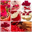 Collage of cupcakes — Stock Photo