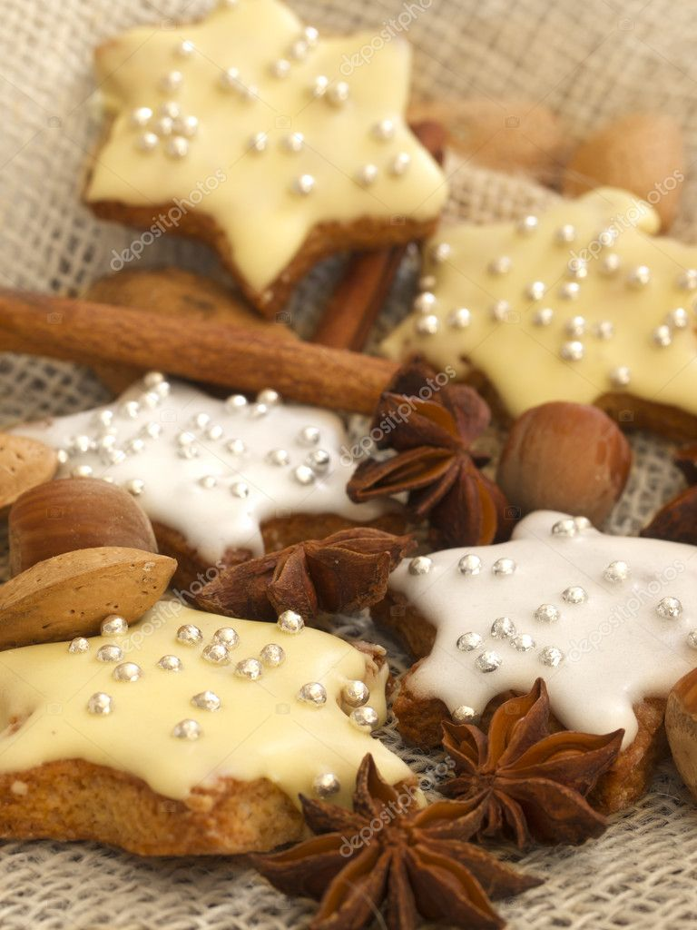 Stars cookies  — Stock Photo #11236040