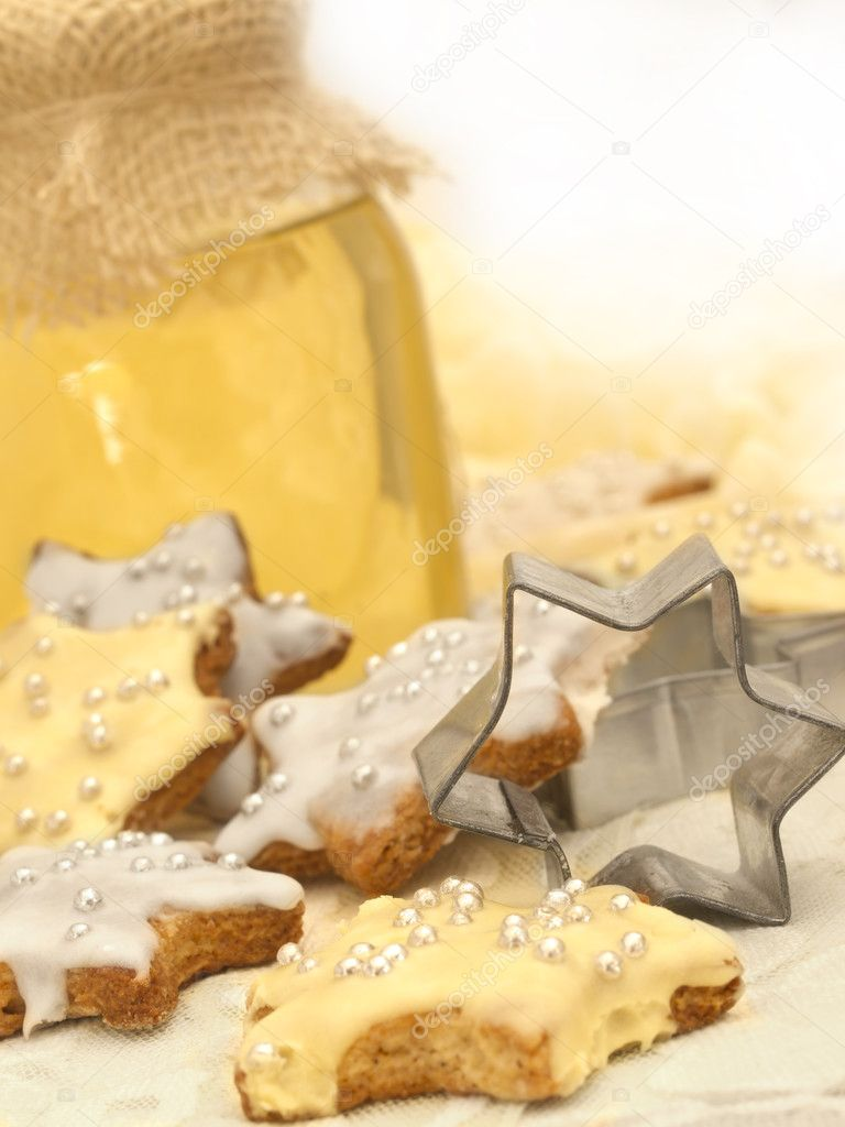 Cookies with honey  — Stock Photo #11236043
