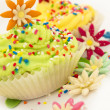 Cup cakes — Stock Photo