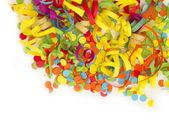 Confetti decoration — Stock Photo