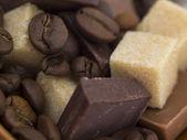 čokoládové přísady — Stock fotografie