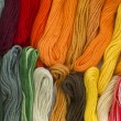 Stock Photo: Yarn background