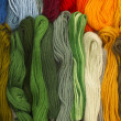 Yarn background — Stock Photo