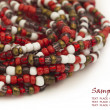 Colorful beads with the place for your text - Foto Stock