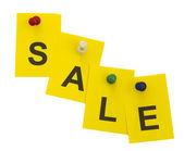 Concept of sale — Stock Photo