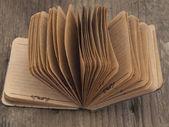 复古笔记本 — 图库照片