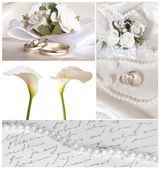 Wedding arrangement — Stock fotografie