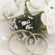 Wedding arrangement — Stock Photo