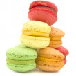 Colorful and tasteful macaroons — Stock Photo